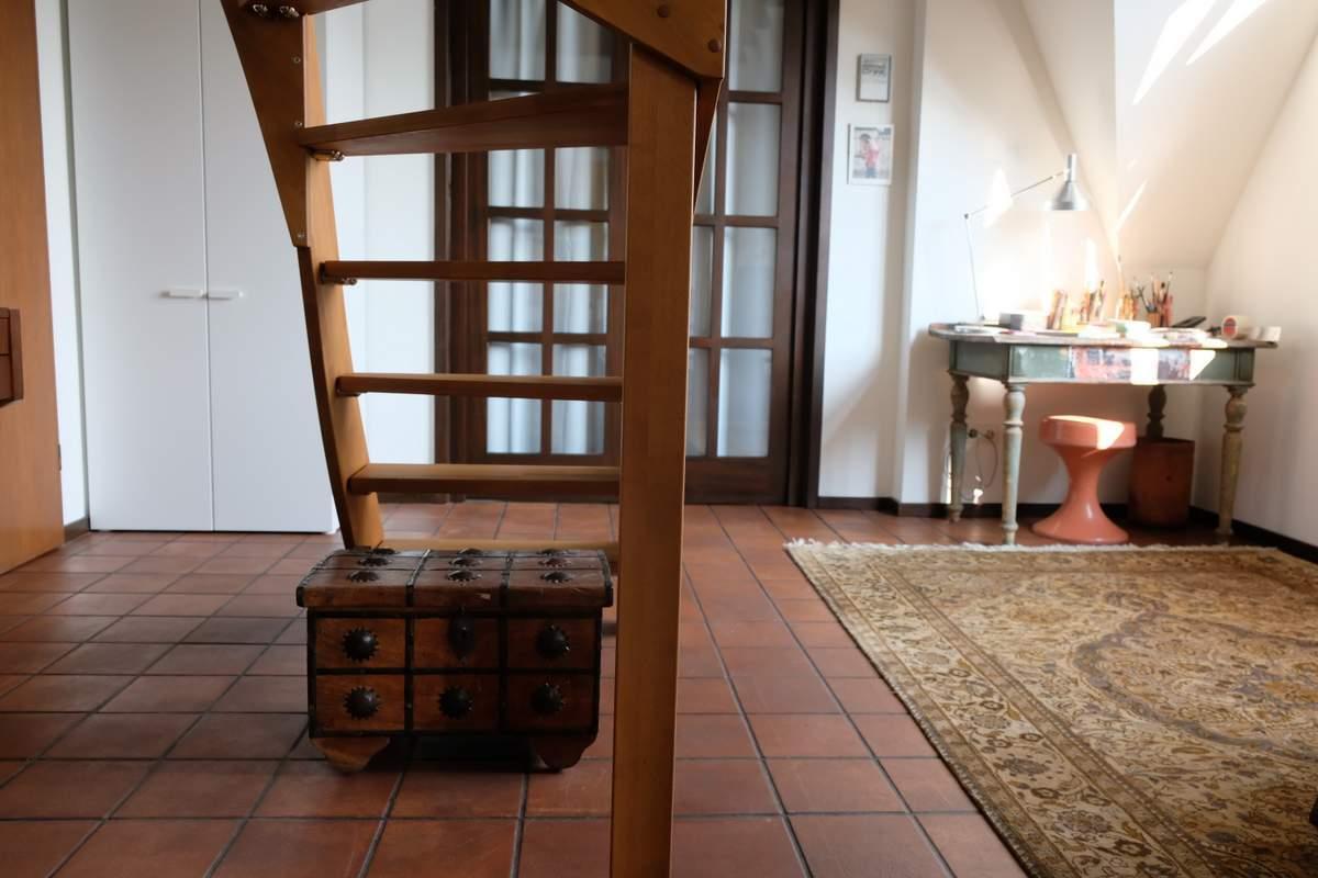 070-Wohnen-auf-Zeit-Frankfurt-51 Stylish Attic holiday apartment with view in Frankfurt City %Bockenheim