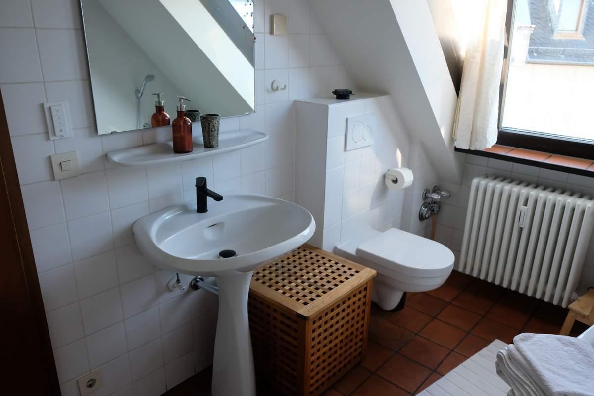 125-Wohnen-auf-Zeit-Frankfurt-61 Stylish Attic holiday apartment with view in Frankfurt City %Bockenheim