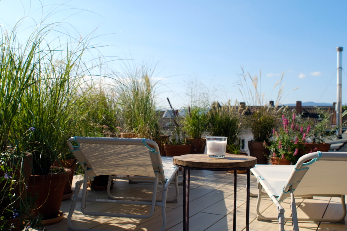 Wohnen-auf-Zeit-Frankfurt-Bockenheim-3 Stylish Attic holiday apartment with view in Frankfurt City %Bockenheim